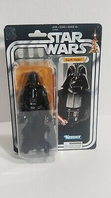 """Star Wars 40TH Anniversary Darth Vader 6"""" Action Figure Kenner Cloth Cape"""