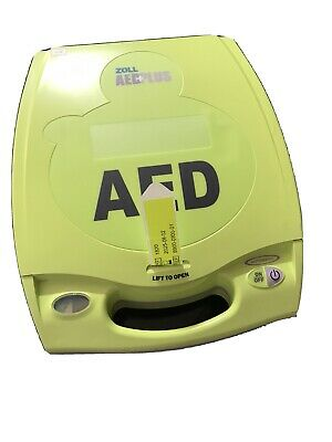ZOLL CPRD Padz AED Plus Defibrillator New 5 Year Pads And Batteries