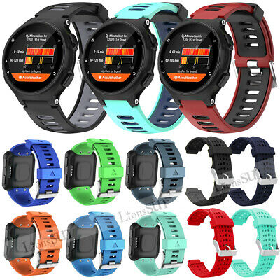 For Garmin Forerunner 35 220 230 235 735XT Replacement Silicone Watch Band Strap