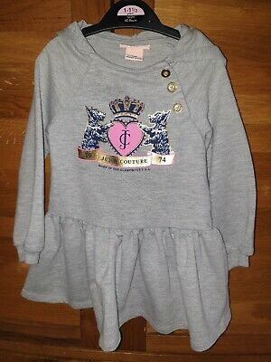 Juicy Couture Hooded Dress Age 2 Year