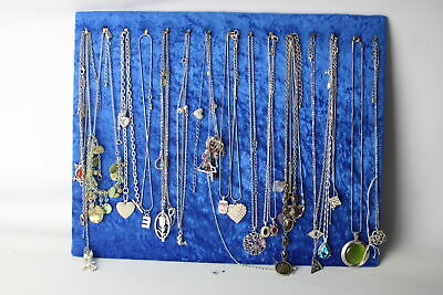 30 x Vintage & Retro Silver Tone NECKLACES & CHAINS inc. Mixed Tone, Mixed Style