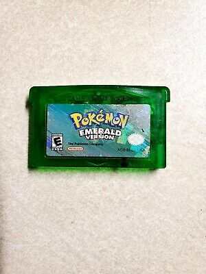 pokemon emerald Version gameboy advance Authentic