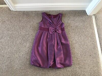 Ted Baker Girls Dress Party Christmas Wedding, Purple, Age 5
