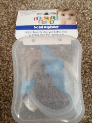 Snufflebabe Snuffle Babe Nasal Aspirator Instant Congestion Relief - Cased