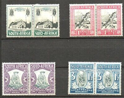 Stamps Br.Commonwealth.South Africa - 1935/36 Voortrekker Memorial SG50/53 - M/M