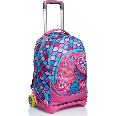 Trolley Seven Jack Sweet Wave Colore Rosa