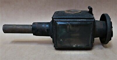 Antique Raydyot Carriage Coach Lamp Needs Work Selling As Is