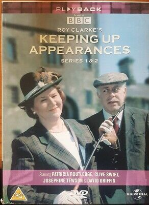 Keeping Up Appearances Complete Series 1 & 2 Dvd Boxset