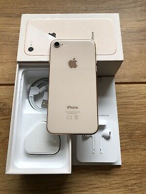 Apple iPhone 8 - 64GB - Gold  UNLOCKED IMMACULATE PRISTINE CONDITION !