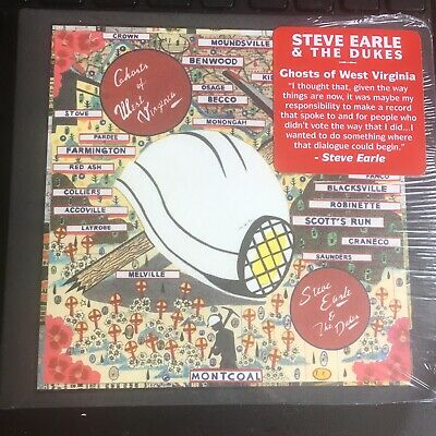 STEVE EARLE & The DUKES - Ghosts Of West Virginia (2020) NEW SEALED CD NEW ALBUM