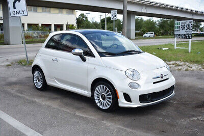 2018 Fiat 500 Lounge DAMAGED, SALVAGE , REPAIRABLE, WRECKS, FIXERS, SAVE,CARS