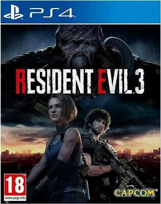 Resident Evil 3 III Remake RE Nemesis PS4 Playstation 4 NUOVO SIGILLATO ITALIANO