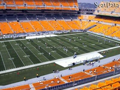 (2) Steelers vs Broncos Tickets 10 Yard Line Upper Level Under Cover!!