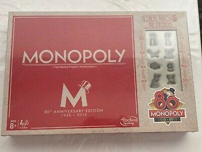 Monopoly 80th anniversary edition Family Board Games