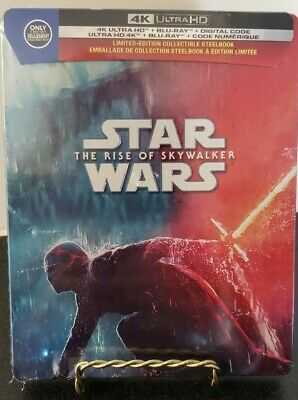 *Damaged* Star Wars The Rise of the Skywalker 4 Best Buy Exclusive Steelbook