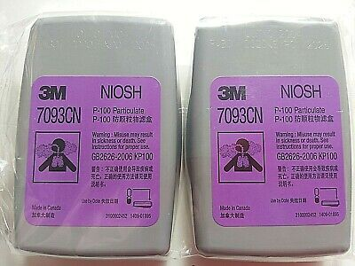 3m 7093 sealed cartridges pack of 2 fits 5000, 6000, 6500, 7000, 7500, series