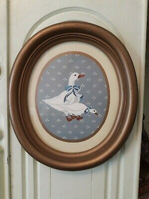 Oval Geese Wall Hanging
