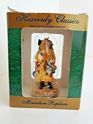 """OLD WORLD HEAVENLY CLASSICS COLLECTION Hand-Painted & Hand-Crafted ST NICK - 4""""H"""
