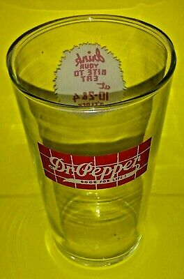 1930S Dr Pepper Glass
