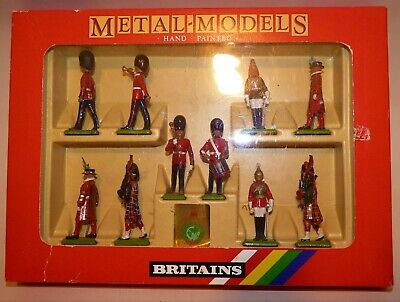 Britains Metal Models Assorted British Toy Soldiers