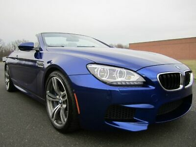 """2012 Bmw M6 Msrp $117,500.00 20"""" Wheel Nav Buc Heated Seats V8 2012 Bmw M6 Convertible Driver Assistance-Executive Pkg-Heads Up V8 Twin Turbo"""