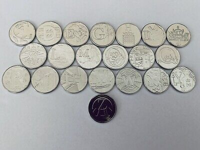 ALPHABET A-Z 10p COINS 2018 GREAT BRITISH COIN HUNT direct from ROYAL MINT-RARE!