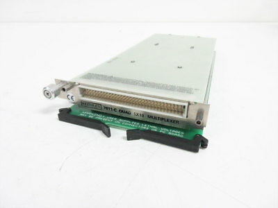 Keithley 7011-C Quad 1X10 Multiplexer Module For Models 7001 & 7002