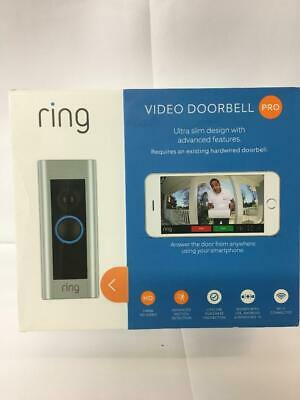Ring Video Doorbell Pro 1080P Motion Wi-Fi Requires Existing Hardwired Doorbell