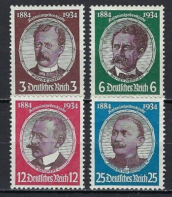 Germany #432-35 Mint, Vf, H - Priced At 1/2 Catalog!
