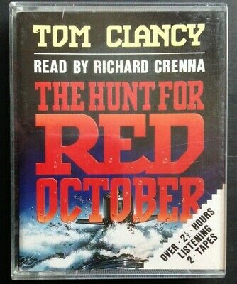 Tom Clancy - The Hunt For Red October read by Richard Crenna (2 x audio cassette