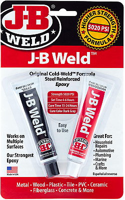 J-B Weld 8265S Original Cold-Weld Steel Reinforced Epoxy - 2 oz.