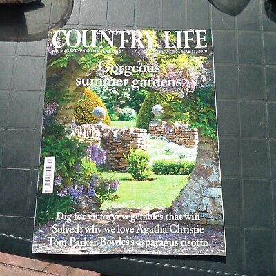 COUNTRY LIFE  MAGAZINE May 13th 2020 Agatha Christie