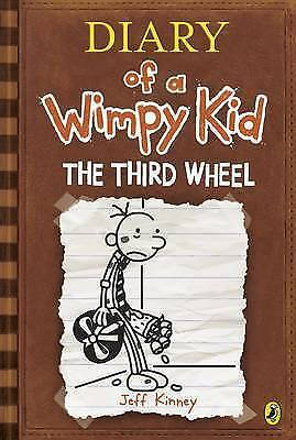 Diary of a Wimpy Kid The Third Wheel Book 7 by Jeff Kinney Paperback Book -  New