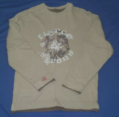 Marks & Spencer boy's fawn long sleeve T-shirt size 11-12 years