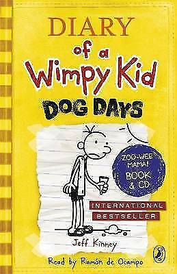 Diary of a Wimpy Kid Dog Days Book 4   by Jeff Kinney Paperback Book- New