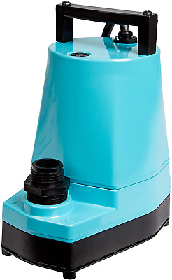 Little Giant LG5MSP 1/6 HP Submersible Hydroponic Pump, 5-MSP, 115V, 1200 GPH-LG