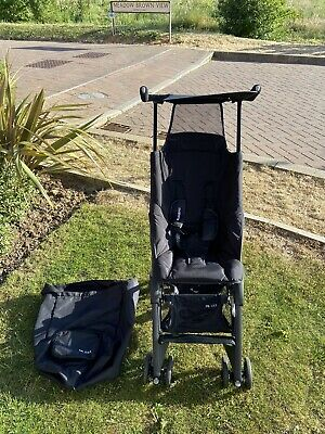 Black Mothercare Travel Folding GB Pockit XSS Stroller Pushchair Buggy Carry Bag