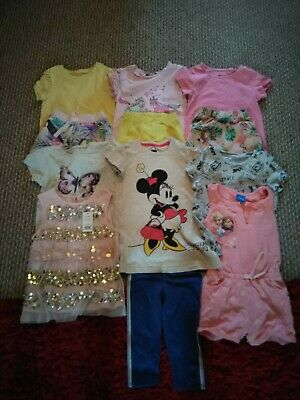 Girls Summer Clothing Bundle Ages 3-5 Years
