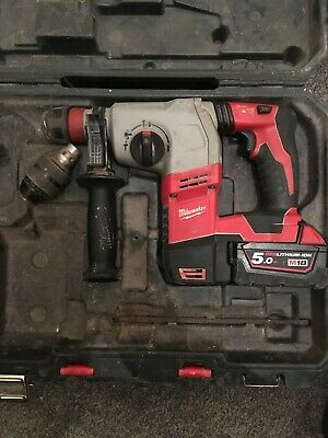 Milwaukee HD18 HX SDS Plus Hammer Drill With 5.0 Ah Battery