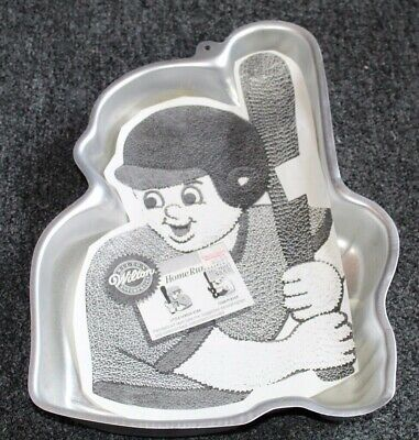 Vintage UNUSED Wilton Cake Pan HOME RUN HITTER
