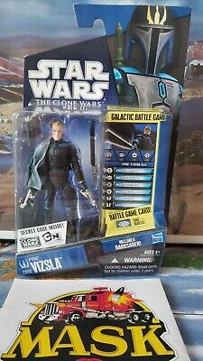 Star Wars The Clone Wars Mandalorian Pre Vizsla Vizla with Darksaber CW 08