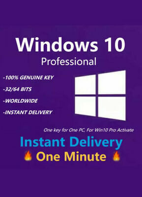 Windows 10 Pro 32 | 64-Bit Gene Acivation Key License Download Link