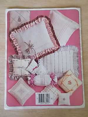 Offray Ribbon Project #1~Needlework with Mini Ribbons~Embroidery~Cross Stitch..