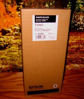 EPSON T5961 Photo Black Ink 350ml for Stylus Pro 7700/7900/9700/9900 UNOPENED