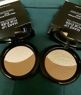 LOTTO 2 Make up forever PRO SCULPTING DUO, PROFESSIONAL PARIS