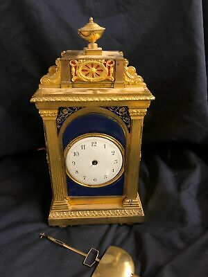 bracket mantle clock for chinese market Morisset & Lukins THWAITES London high q