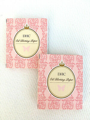 DHC ~ Handbag Size Duo ~ Oil Blotting Paper Packs ~ (2 x 100 sheets)