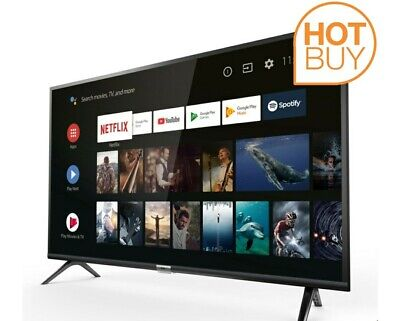 TCL 32ES568 32 Inch TV Smart 720p HD Ready LED Freeview HD 2 HDMI Dolby Vision