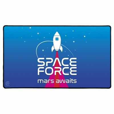 Play Mat Space Force Soft Fabric Top Non-Slip Rubber Backing Durable