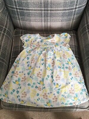 Marks And Spencers, M&S Girls Summer Dress. Beautiful 12-18months